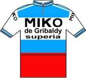 Miko - De Gribaldy - Superia 1976 shirt