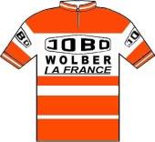 Jobo - Spidel - Wolber - La France 1976 shirt
