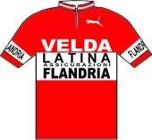 Flandria - Velda - Latina Assicurazioni 1977 shirt