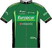 Team Europcar 2011 shirt