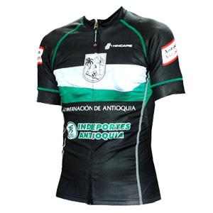 Gobernacion de Antioquia - Indeportes Antiquia 2011 shirt