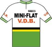 Mini-Flat - V.D.B. - Pirelli 1979 shirt
