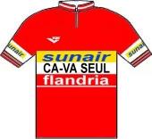 Flandria - Ca-va seul - Sunair 1979 shirt