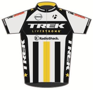 Trek Livestrong U23 2011 shirt