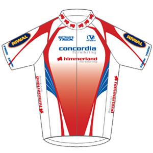 Team Concordia Forsikring - Himmerland 2011 shirt