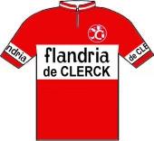 Flandria - De Clerck 1967 shirt