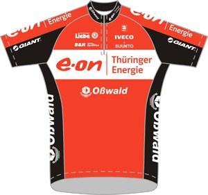 Thüringer Energie Team 2011 shirt