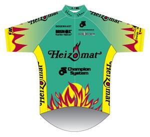 Team Heizomat 2011 shirt