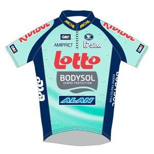Lotto - Bodysol Pole Continental Wallon 2011 shirt
