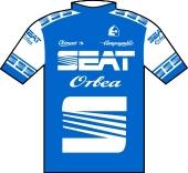 Seat - Orbea 1985 shirt