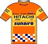Hitachi - Splendor - Sunair 1985 shirt