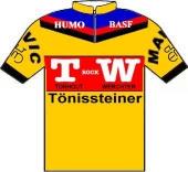 Tönissteiner - TW Rock - BASF - Humo 1985 shirt