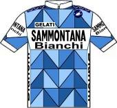 Sammontana - Bianchi 1985 shirt