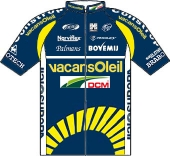 Vacansoleil - DCM Pro Cycling Team 2011 shirt
