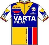 Varta - Café de Colombia - Mavic 1985 shirt