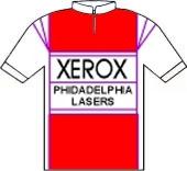 Team Xerox - Philadelphia Lasers 1985 shirt